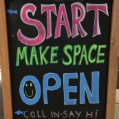 START make space is now open